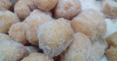 sweet dough balls
