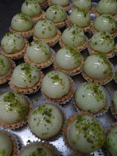 Pasticceria mignon al pistacchio