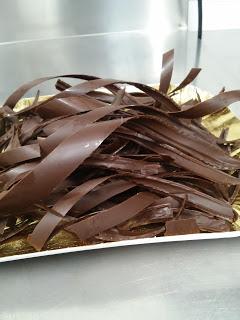 Decorazioni in cioccolato per torte